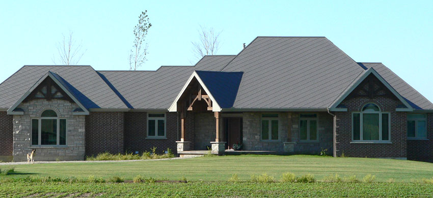 Diamond Steel Shingles